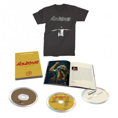 Bob Marley - Exodus 40 3 CD Set + Exodus 40 T-Shirt
