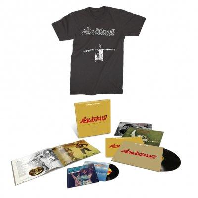 Bob Marley - Exodus 40 Super Deluxe Package Vinyl Set + Exodus 40 T-Shirt