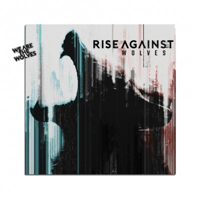 rise-against - Wolves CD + Enamel Pin Bundle