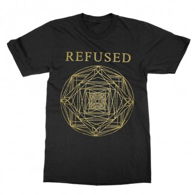 refused - Kaleidoscope Stamp Tee (Black)
