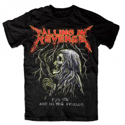 falling-in-reverse - FU And Your Friends Tee (Black)