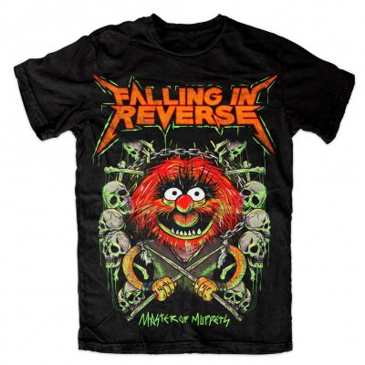 falling-in-reverse - Master Of Muppets Tee (Black)