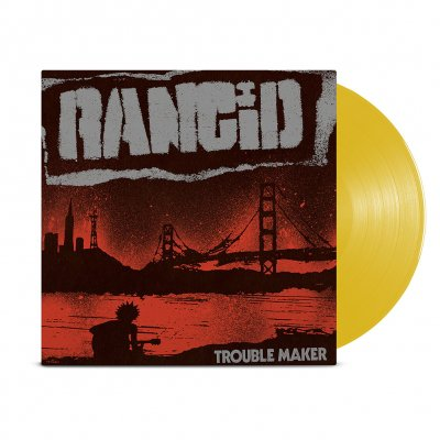 rancid - Rancid - Trouble Maker LP (Translucent Gold)