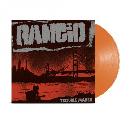 rancid - Trouble Maker LP (Translucent Orange)