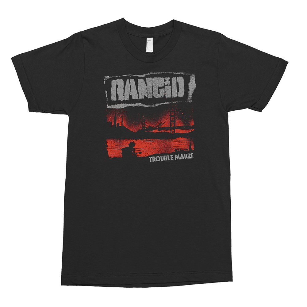 Trouble Maker Cover Tee (Black)