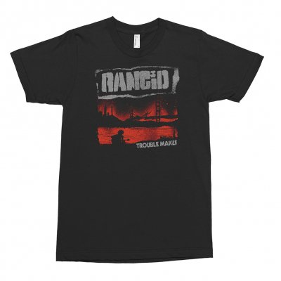 rancid - Trouble Maker Cover Tee (Black)