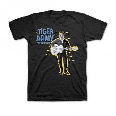 tiger-army - Dark And Lonely Night T-Shirt (Black)