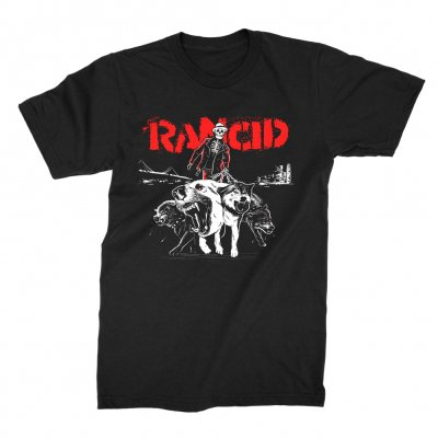 rancid - Skele-Tim Wolves Tee (Black)