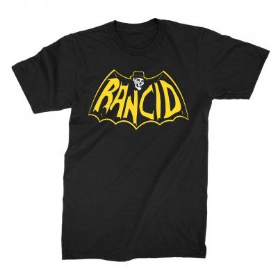 rancid - Skele-Tim Bat Logo Tee (Black)