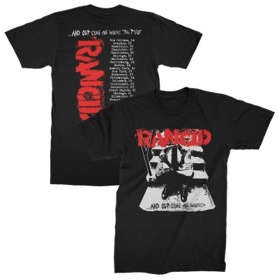 Rancid - Rancid Out Come The Wolves Tour Tee (Black)