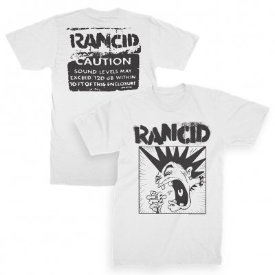 rancid - Screaming Mohawk Tee (White)