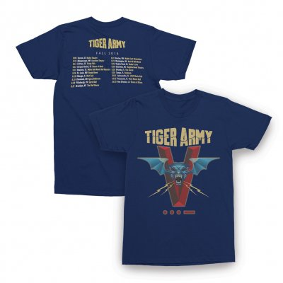 tiger-army - 2016 Tour Tee - Womens (Navy)