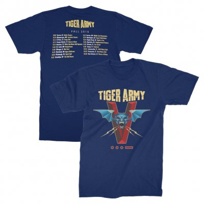 tiger-army - 2016 Tour T-Shirt (Navy)