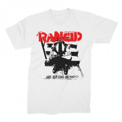 rancid - ...And Out Come The Wolves Tee (White)