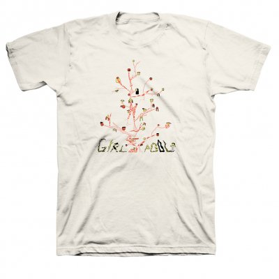 anti-records - Girlpool - Tree T-Shirt (Natural)