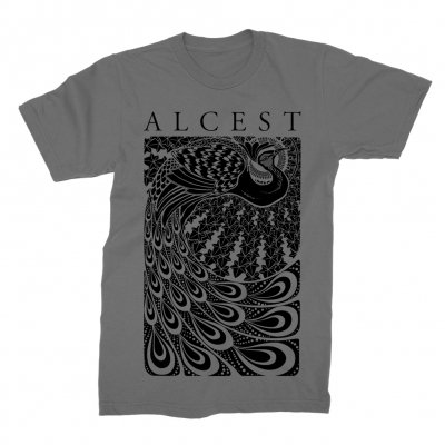 alcest - Peacock T-Shirt (Charcoal)