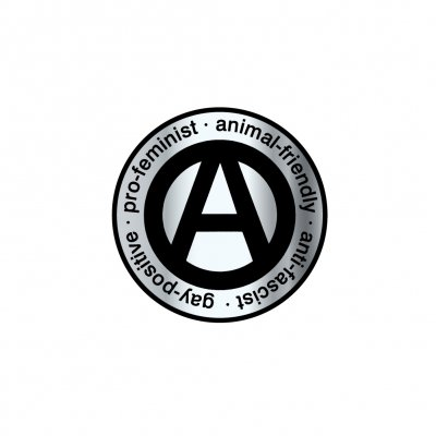 propagandhi - Anti-Facist A Enamel Pin