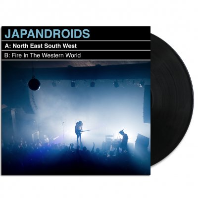 "Japandroids - North East South West 7"" (Black)"