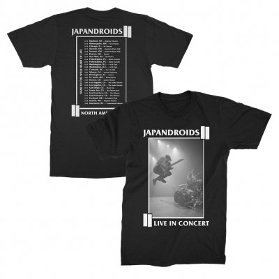 japandroids - America 2017 Tour Tee (Black)