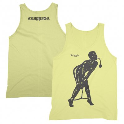 clipping - Wriggle Tank Top (Yellow)