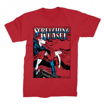 screeching-weasel - Dracula T-Shirt (Red)