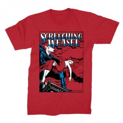screeching-weasel - Dracula T-Shirt (Red)