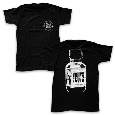 Youth Code - Poppers T-Shirt (Black)