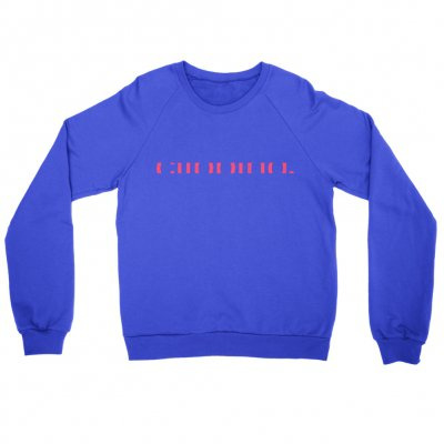 clipping - Logo Crew Neck Sweatshirt (Royal)
