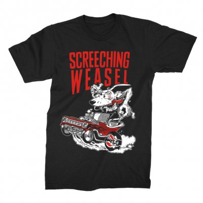 screeching-weasel - Hot Rod T-Shirt (Black)