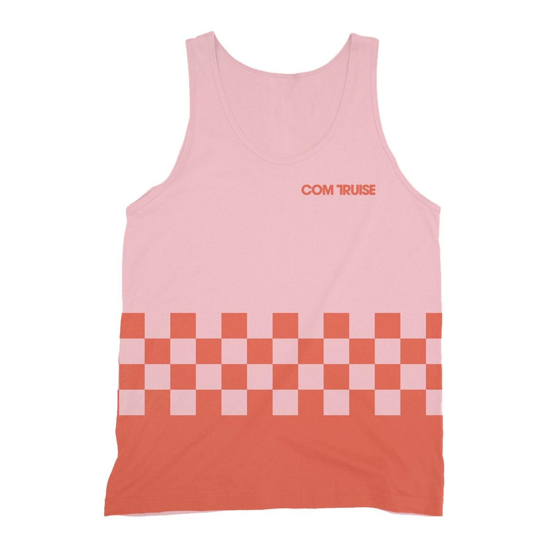 IMAGE | Racer Tank Top (Pink/Orange)