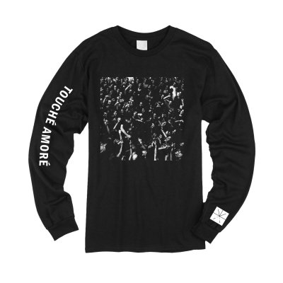 Touche Amore - Live Photo Long Sleeve T-Shirt (Black)