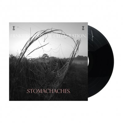 frank-iero - .STOMACHACHES. LP (Black)