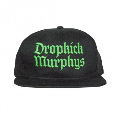Dropkick Murphys - Gothic Logo Snapback Hat (Black)