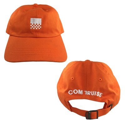 com-truise - Unstructured Racer Hat (Orange)
