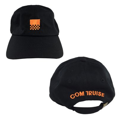 Unstructured Racer Hat (Black)