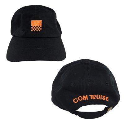 Unstructured Racer Hat (Black)