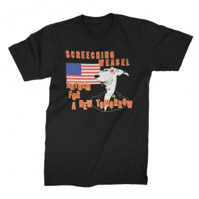 screeching-weasel - Anthem T-Shirt (Black)
