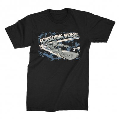 screeching-weasel - Surfer T-Shirt (Black)