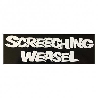 screeching-weasel - Logo Sticker