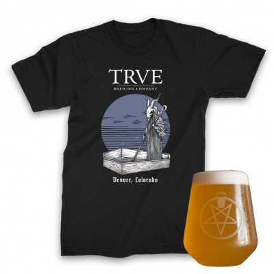 trve-brewing-company - Pintagram Rastal + Buried Sun Tee (Black) Bundle