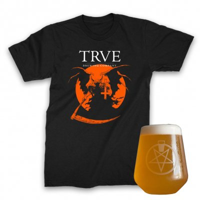 trve-brewing-company - Pintagram Rastal + Warmoon Tee (Black) Bundle