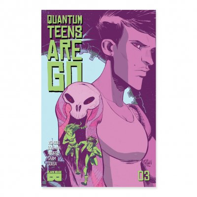Quantum Teens Are Go - Quantum Teens Are Go - Issue 3