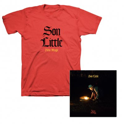 Son Little - New Magic CD + New Magic Logo T-Shirt (Red) Bundle
