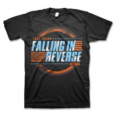 Falling In Reverse - Lost Vegas T-Shirt (Black)