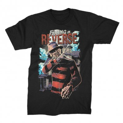 falling-in-reverse - Nightmare T-shirt (Black)