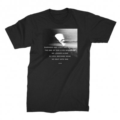 John Legend - Darkness Lyrics T-Shirt (Black)