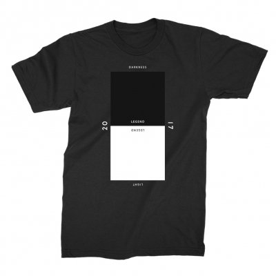 John Legend - Darkness and Light Square T-Shirt (Black)