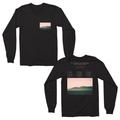 John Legend - Landscape Long Sleeve T-Shirt (Black)