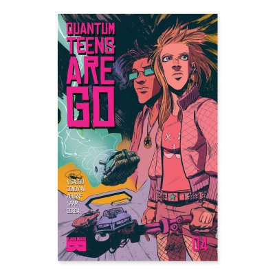 Quantum Teens Are Go - Quantum Teens Are Go - Issue 4