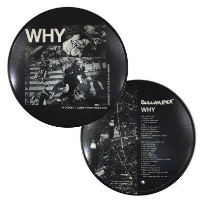discharge - Why? Pic LP (Import)